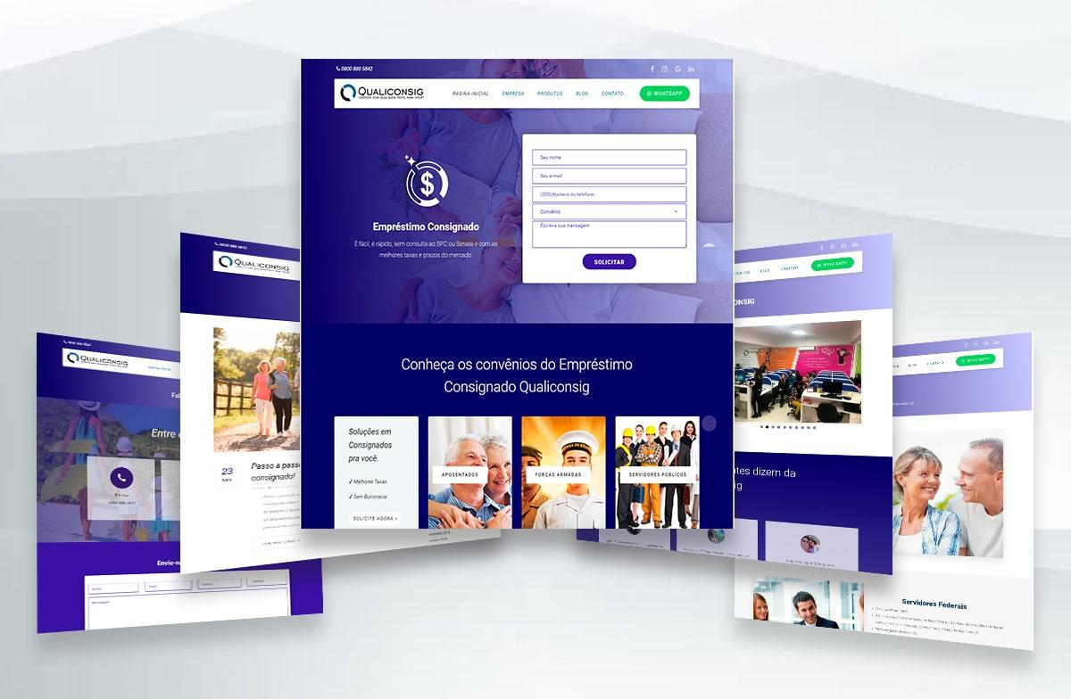 Criação de Site - Qualiconsig 8