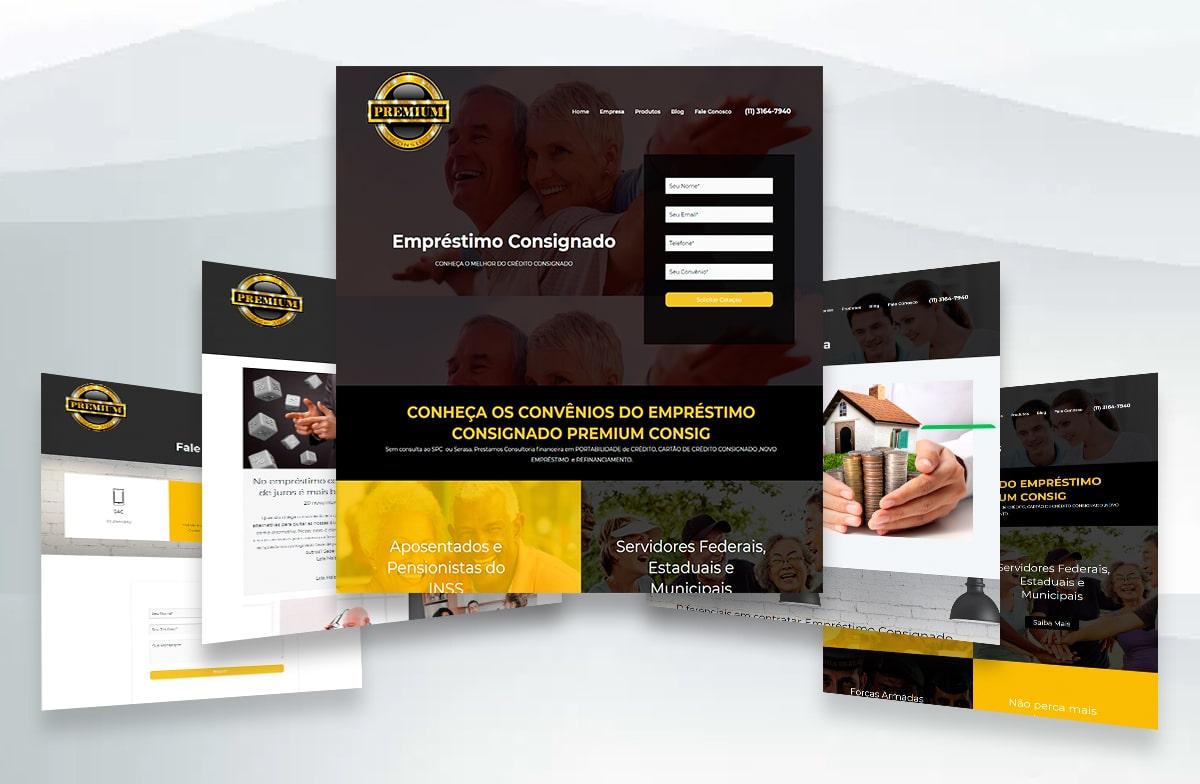 Criação de Site- Premium Consig 4